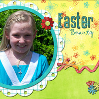 Easter Beauty *Sept Ad inspiration challenge*