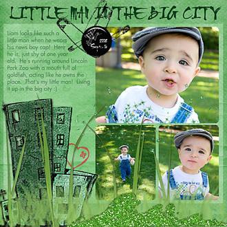 Little Man {CT Monochromatic Reveal}