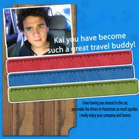 Travel buddy Kai