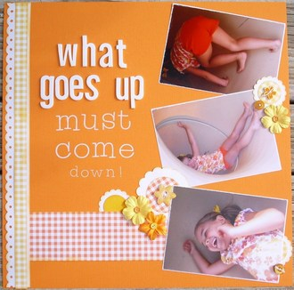 What goes up must come down!