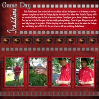 Game Day Traditions *Digi Reveal 9/25*