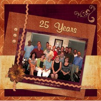25 Years *Oct. Color Challenge*