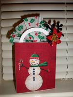 Holiday Hybrid Gift Bag {digi CT reveal}