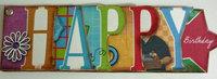 Happy Birthday Hybrid Card Booklet