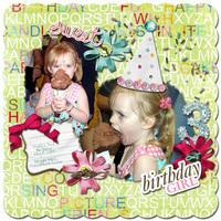 Sweet Birthday Girl (CT Apprec. Crop Challenge)