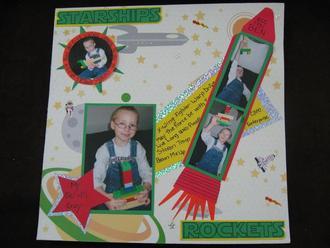 starships and rockets