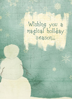 **Christine Haskel Designs Reveal** Magical Christmas Card