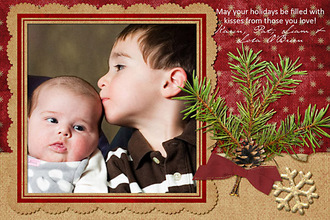Christmas 2009 Card {CT Card Reveal}