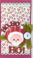 Ho, Ho, HO Card **Crop Christmas Card Class**