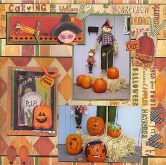 DT CHA Reveal- Our Pumpkin Patch