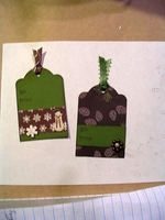 Christmas Tags for Fast Scrap