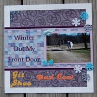 Winter Out My Front Door