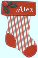 Stocking Christmas Card