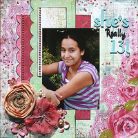 She's Really 13! **Prima CT Reveal**