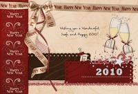 New Year 2010 Digi Card