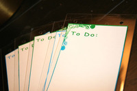To Do List Clear Album