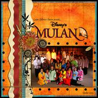 Digi doable challenge: Mulan Jr.