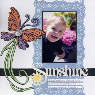"""Sunshine"" - Disney Cricut Reveal"