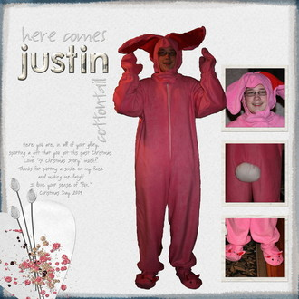 Here Comes Justin Cottontail