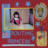 Pouting Princess