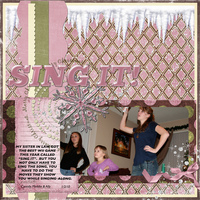 Sing it- Jan digi doable