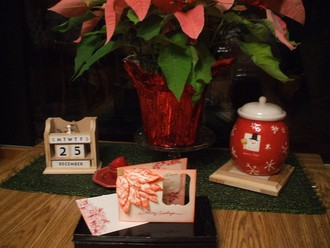 Poinsettia Holiday Greeting