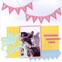 Kitty Kisses **Cricut Mother's Day Cart. Reveal**