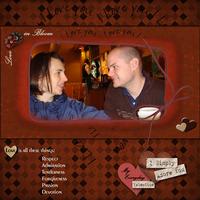 Feb Countdown Chlg - Love in Bloom