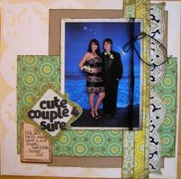 Doilies and Diecuts Class...Cute Couple 4 Sure