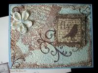 Blue Bird Fly Card