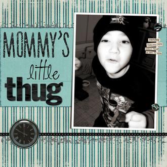 Mommy's Little Thug