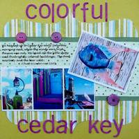 Colorful Cedar Key