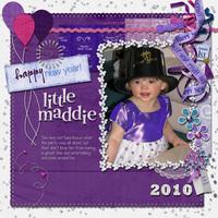 Happy New Year Little Maddie