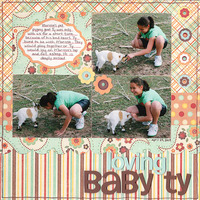 "Loving Baby Ty  **CT Contest ""Pets"" Reveal**"