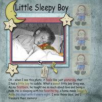 Little Sleepy Boy