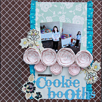 Brownie Cookie Booths **Inspired by Fashion Reveal**