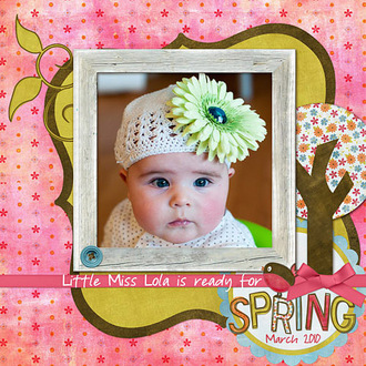 Lola is ready for Spring!
