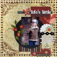 """Life's Little Moments"" - April Die-Cutting Challenge"