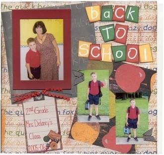 Aug. Challenge:  Back to School