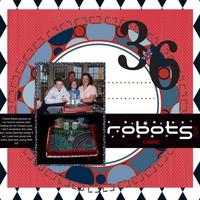 My Robots Cake