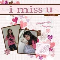 I Miss U!