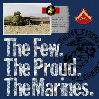 The Few. The Proud. The Marines.
