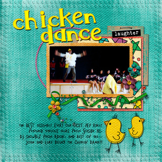 Chicken Dance {CT reveal}