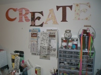 """Love to """"CREATE"""" letters"""