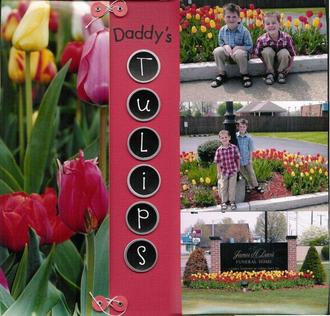 Daddy's Tulips