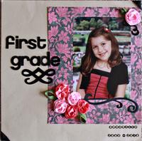 First grade**Ribbon Reveal**