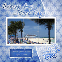 Breezy Day on Coco Cay