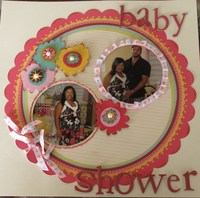 Baby Shower - Challenge #5 Happy May Day