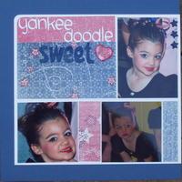 Yankee Doodle Sweetheart- Challenge 20