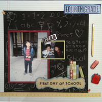 First Day of School - Forth Grade